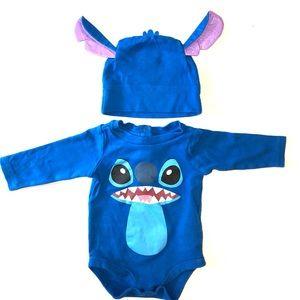 Lilo & Stitch Disney Baby Stitch hat and bodysuit